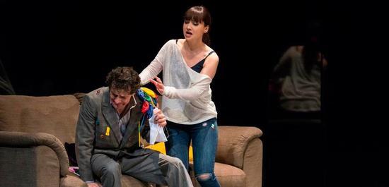 Luca Grassi (Rigoletto), Cristina Pasaroiu (Gilda), Copyright: Matthias Jung