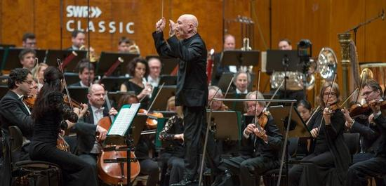 SWR Symphonieorchester Dirigent: Christoph Eschenbach, Copyright: © SWR/Markus Palmer