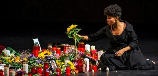 Golda Schultz (Vitellia), Copyright: Salzburger Festspiele / Ruth Waltz
