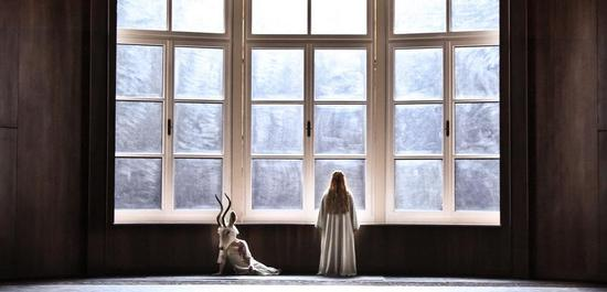 Sarah Grether (Weiße Gazelle) und Camilla Nylund (Die Kaiserin), Copyright: Hans Jörg Michel