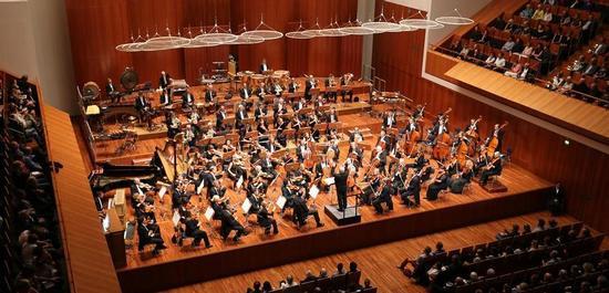 Das SWR Symphonieorchester im Konzerthaus Freiburg, Copyright: © SWR/Wolfram Lamparter