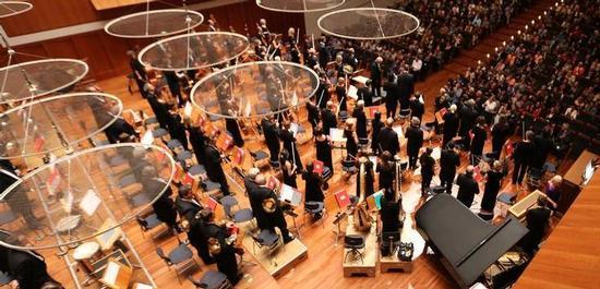 SWR Symphonieorchester - Abo-Konzert in Freiburg, Copyright: SWR/Wolfram Lamparter