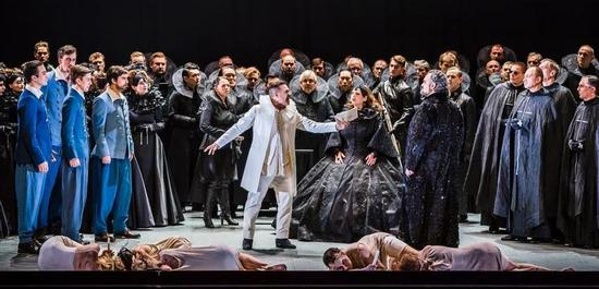 "Oper Leipzig ""Don Carlo"", Premiere 30.09.2017 // Ensemble, Copyright: Kirsten Nijhof"