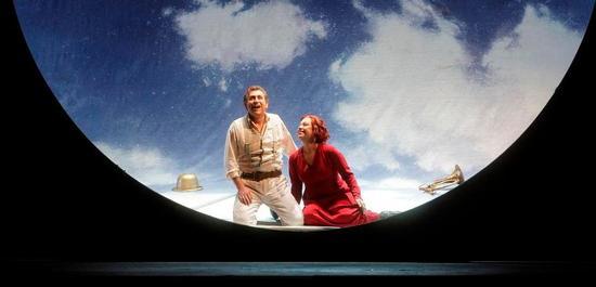 Götterdämmerung: Nina Stemme (Brünnhilde), Andreas Schager (Siegfried), Copyright: Klaus Gigga