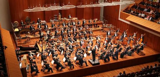 Das SWR Symphonieorchester im Konzerthaus Freiburg, Copyright: SWR/Wolfram Lamparter