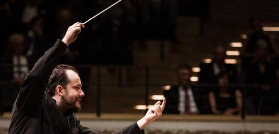 Andris Nelsons in der Elbphilharmonie, Copyright: Peter Hundert
