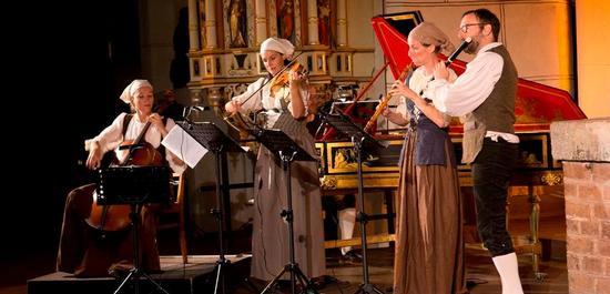 Szenische Aufführung des Oratoriums Esther, Copyright: Festival Alte Musik Bernau