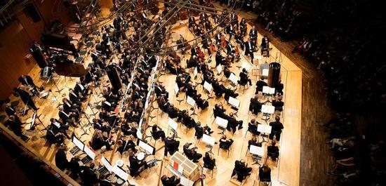 Symphonieorchester des Bayerischen Rundfunks, Copyright: Astrid Ackermann