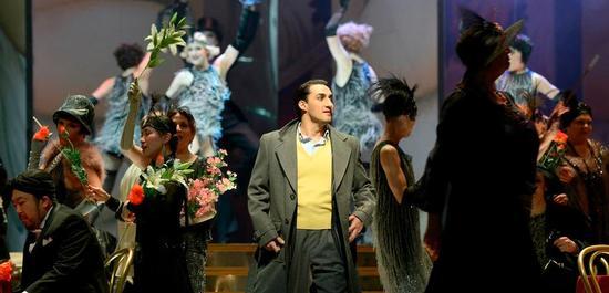 Charles Castronovo als Ruggero, Copyright: Bettina Stöß