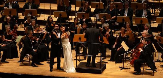 Musikfest Bremen: Operngala Anna Netrebko, Yusif Eyvazov, Die Deutsche Kammerphilharmonie Bremen, Copyright: Patric Leo