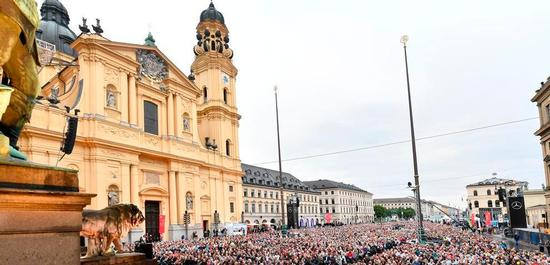 Klassik am Odeonsplatz, Copyright: Marcus Schlaf