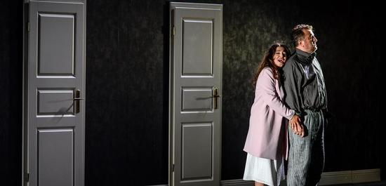 PIQUE DAME, Opernfestspiele Heidenheim 2019: George Oniani, Zlata Kershberg, Ensemble, Copyright: Oliver Vogel
