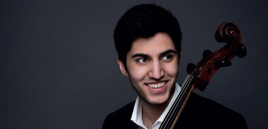 Kian Soltani, Violoncello, Copyright: Juventino Mateo