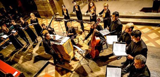Ensemble 1684 & Gregor Meyer, Copyright: Heiko Pressler