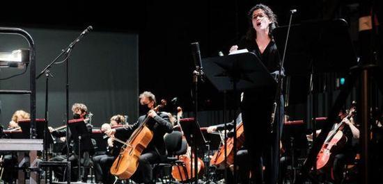 Antigone (Judith Fa) in der Uraufführung von Hémon, Copyright: Klara Beck