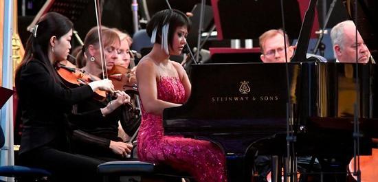 Solistin am Klavier: Yuya Wang, Copyright: Markus Schlaf