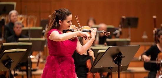 Baiba Skride, Symphonieorchester des Bayerischen Rundfunks, Copyright: Astrid Ackermann