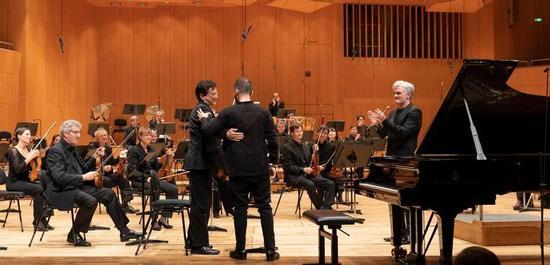 Symphonieorchester des Bayerischen Rundfunks, am Klavier Igor Levit, Copyright: Astrid Ackermann