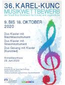 Informationen zu Karel-Kunc-Wettbewerb
