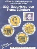 Details zu Sonderprägung: 200. Geburtstag von Schubert