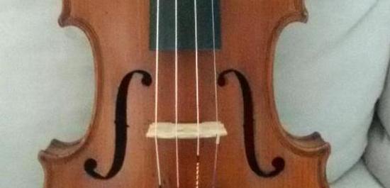 Details zu Französische Geige 4/4 aus dem 19. Jh.