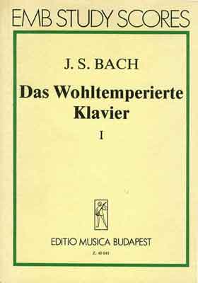 Details zu EMB, J.S.Bach - Das Wohltemperierte Klavier Band I