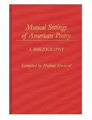 Details zu Musical Settings of American Poetry