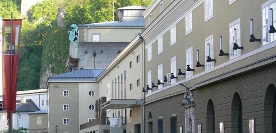 Großes Festspielhaus Salzburg, © Andreas Praefcke
