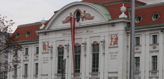 Wiener Konzerthaus, Copyright: Manuela Bachmann