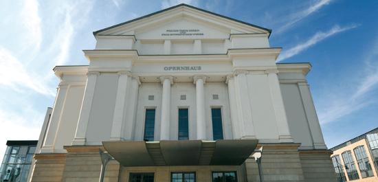 Opernhaus Magdeburg, © H.L.Böhme