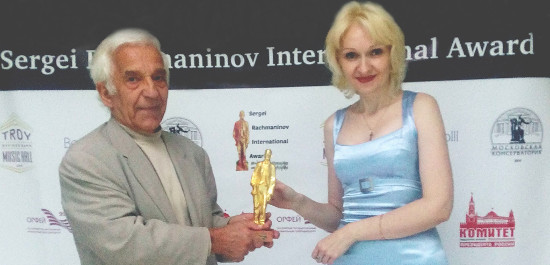 Vladimir Ashkenazy und Violetta Egorova, © Sergei Rachmaninov International Award