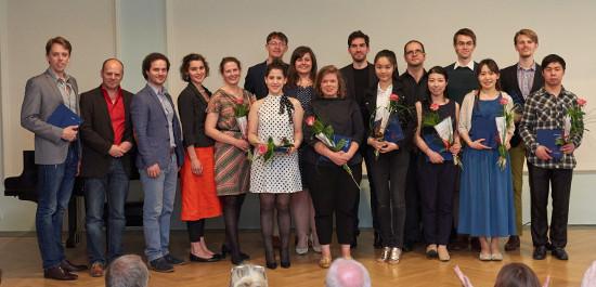 Die Gewinner des Zwickauer Schumann-Wettbewerbs 2016, © Gregor Lorenz