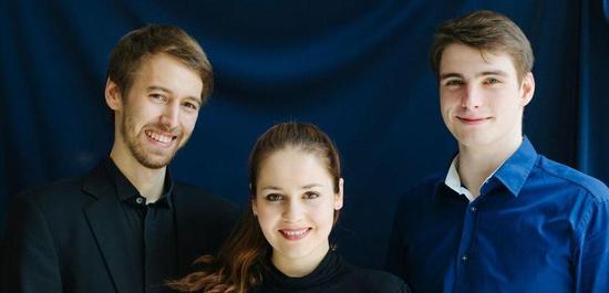 Friedrich Thiele, Valentino Worlitzsch, Laura Moinian, © Sima Dehgani