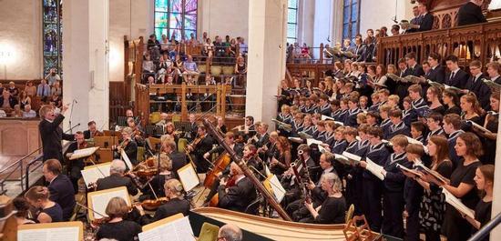 Eröffnungskonzert des Bachfestes Leipzig 2017, © Stefan Malzkorn