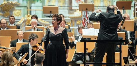 Dresdner Festspielorchester, Waltraud Meier, unter der Leitung von Ivor Bolton, © Oliver Killig