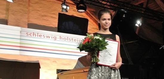 Förderpreisträgerin Sonja Kowollik, © Inga Schönfeldt