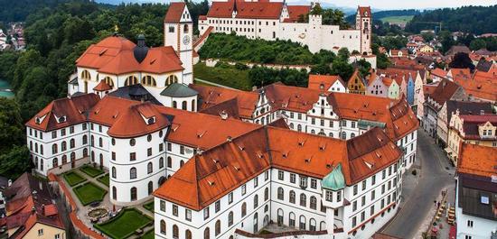Kloster St. Mang in Füssen, © Robert Klinger