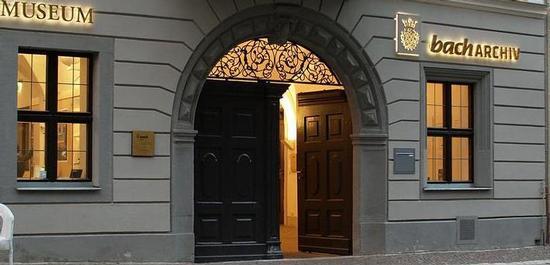 Eingang Bach-Archiv Leipzig, © Appaloosa_LE