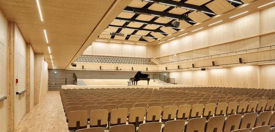 Tonhalle Maag, Konzertsaal, © Hannes Henz