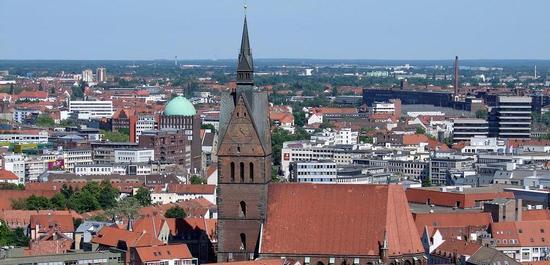 Stadtansicht Hannover, © H. Helmlechner