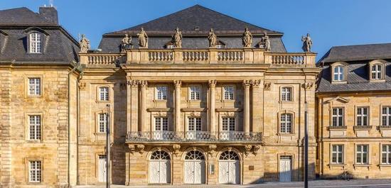 Außenansicht Opernhaus, © Achim Bunz, Bayerische Schlösserverwaltung