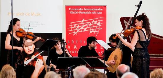 Ensemble La Vaghezza, © Alciro Theodoro da Silva
