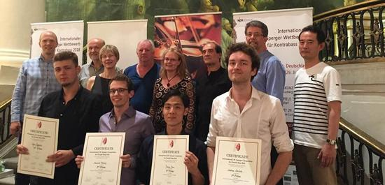 Preisträger und Jury, © International Sperger Society