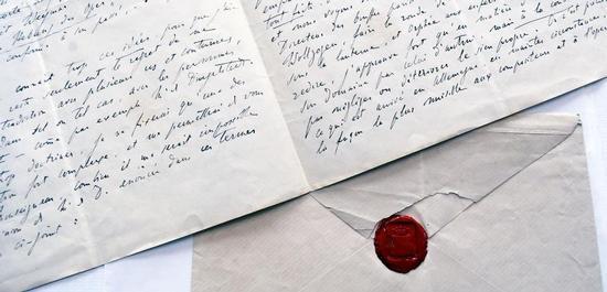 Brief von Franz Liszt an Großherzog Carl Alexander von Sachsen-Weimar-Eisenach vom 29. Dezember 1860, © Klassik Stiftung Weimar
