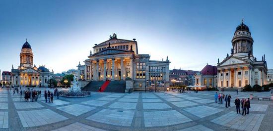 Konzerthaus Berlin (Außenansicht), © Sebastian Runge