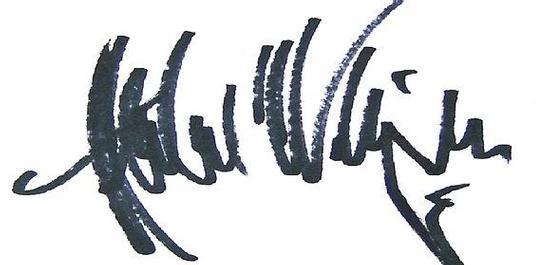 Autogramm Herbert von Karajan, © DUMI
