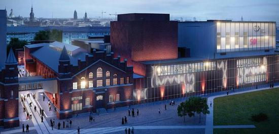 Kraftwerk Mitte (Visualisierung), © pfp Architekten
