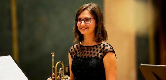 Die Gewinnerin im Fach Trompete: Selina Ott, © Daniel Delang