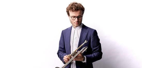 Trompeter Simon Höfele, © Sebastian Heck