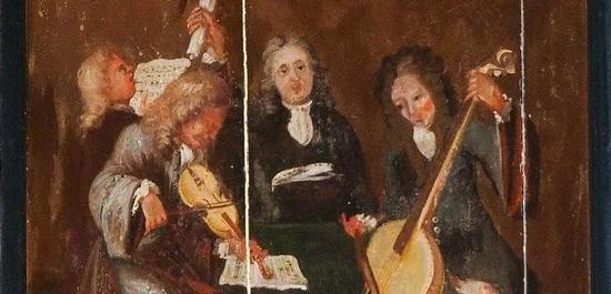 Zeigt nach der Arp-Schnitger-Gesellschaft Golzwarden angeblich als zweiten von rechts den Orgelbauer, © Christa Bahlmann